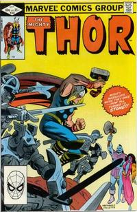 Cover Thumbnail for Thor (Marvel, 1966 series) #323 [Direct]