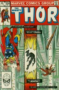 Cover Thumbnail for Thor (Marvel, 1966 series) #324 [Direct]