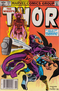 Cover Thumbnail for Thor (Marvel, 1966 series) #325 [Newsstand]