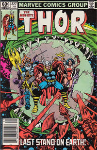 Cover Thumbnail for Thor (Marvel, 1966 series) #327