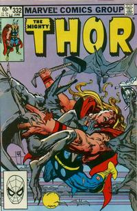 Cover Thumbnail for Thor (Marvel, 1966 series) #332 [Direct]