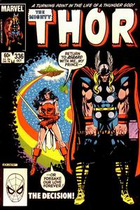 Cover Thumbnail for Thor (Marvel, 1966 series) #336 [Direct Edition]