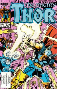 Cover Thumbnail for Thor (Marvel, 1966 series) #339 [Direct Edition]