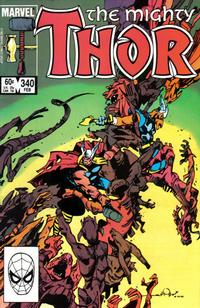 Cover Thumbnail for Thor (Marvel, 1966 series) #340 [Direct]