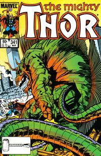 Cover Thumbnail for Thor (Marvel, 1966 series) #341 [Direct Edition]