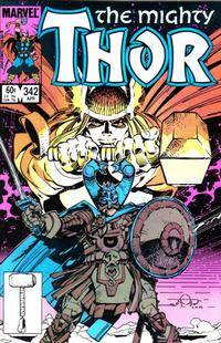 Cover Thumbnail for Thor (Marvel, 1966 series) #342 [Direct Edition]