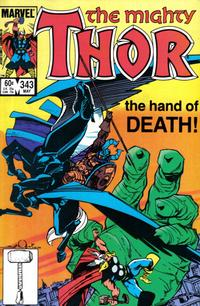 Cover Thumbnail for Thor (Marvel, 1966 series) #343 [Direct]