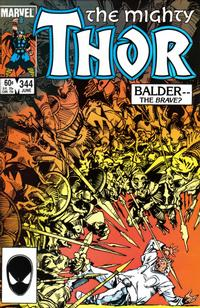 Cover Thumbnail for Thor (Marvel, 1966 series) #344 [direct edition]