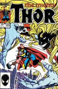 Cover Thumbnail for Thor (Marvel, 1966 series) #345 [Direct]
