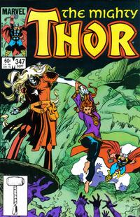 Cover Thumbnail for Thor (Marvel, 1966 series) #347 [Direct Edition]