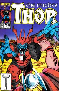Cover Thumbnail for Thor (Marvel, 1966 series) #348 [Direct]