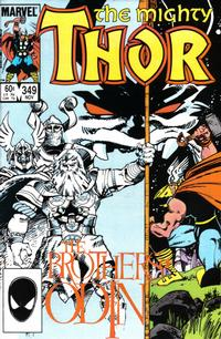 Cover Thumbnail for Thor (Marvel, 1966 series) #349 [Direct]