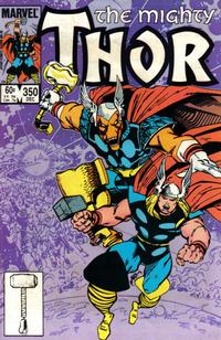 Cover Thumbnail for Thor (Marvel, 1966 series) #350 [Direct Edition]