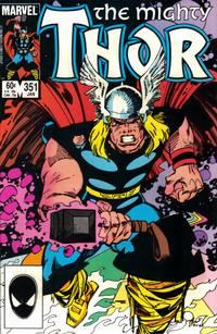 Cover Thumbnail for Thor (Marvel, 1966 series) #351 [Direct]