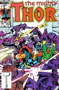 Cover Thumbnail for Thor (Marvel, 1966 series) #352 [Direct]
