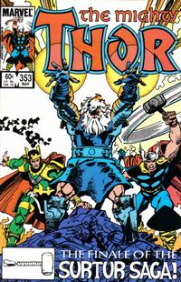 Cover Thumbnail for Thor (Marvel, 1966 series) #353 [Direct]