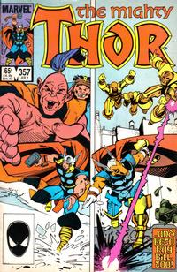 Cover for Thor (Marvel, 1966 series) #357 [Newsstand]