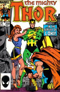 Cover Thumbnail for Thor (Marvel, 1966 series) #359