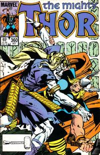 Cover Thumbnail for Thor (Marvel, 1966 series) #360