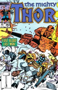 Cover Thumbnail for Thor (Marvel, 1966 series) #362 [Direct]