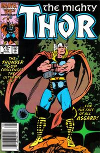 Cover Thumbnail for Thor (Marvel, 1966 series) #370 [Newsstand]
