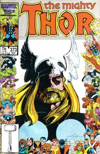 Cover Thumbnail for Thor (Marvel, 1966 series) #373 [Direct Edition]