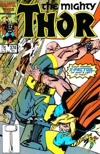 Cover Thumbnail for Thor (Marvel, 1966 series) #374 [Direct Edition]