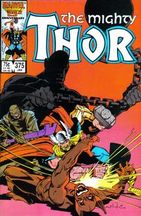 Cover Thumbnail for Thor (Marvel, 1966 series) #375 [Direct Edition]