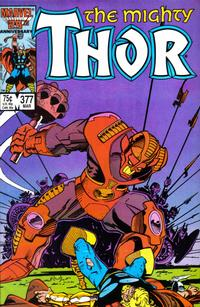 Cover Thumbnail for Thor (Marvel, 1966 series) #377