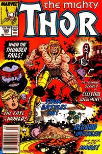 Cover Thumbnail for Thor (Marvel, 1966 series) #389 [Newsstand]
