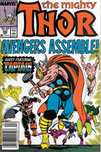 Cover for Thor (Marvel, 1966 series) #390 [Newsstand]