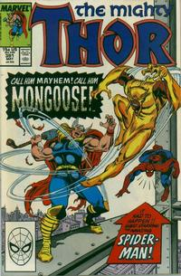 Cover Thumbnail for Thor (Marvel, 1966 series) #391 [Direct Edition]