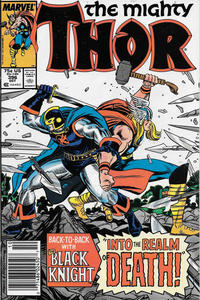 Cover Thumbnail for Thor (Marvel, 1966 series) #396 [Newsstand]
