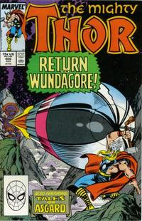 Cover Thumbnail for Thor (Marvel, 1966 series) #406 [Direct Edition]