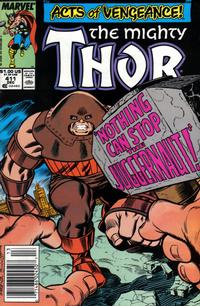 Cover Thumbnail for Thor (Marvel, 1966 series) #411