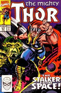 Cover for Thor (Marvel, 1966 series) #417 [Direct]