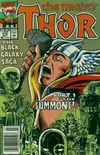 Cover Thumbnail for Thor (Marvel, 1966 series) #419 [Newsstand]