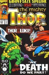 Cover Thumbnail for Thor (Marvel, 1966 series) #432 [Direct]