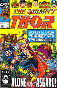 Cover Thumbnail for Thor (Marvel, 1966 series) #434 [Direct Edition]