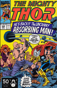 Cover for Thor (Marvel, 1966 series) #436 [Direct]