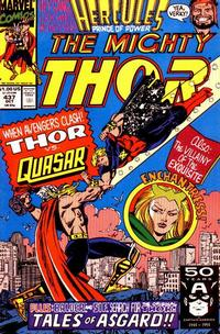Cover Thumbnail for Thor (Marvel, 1966 series) #437 [Direct]