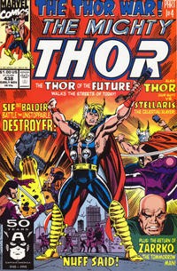 Cover Thumbnail for Thor (Marvel, 1966 series) #438 [Direct]