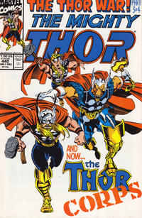 Cover Thumbnail for Thor (Marvel, 1966 series) #440 [Direct Edition]