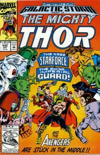 Cover Thumbnail for Thor (Marvel, 1966 series) #446 [Direct Edition]