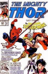 Cover Thumbnail for Thor (Marvel, 1966 series) #448 [Direct Edition]