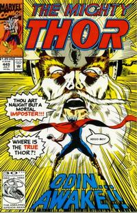 Cover Thumbnail for Thor (Marvel, 1966 series) #449