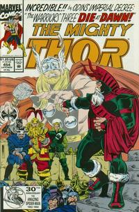 Cover Thumbnail for Thor (Marvel, 1966 series) #454 [Direct Edition]
