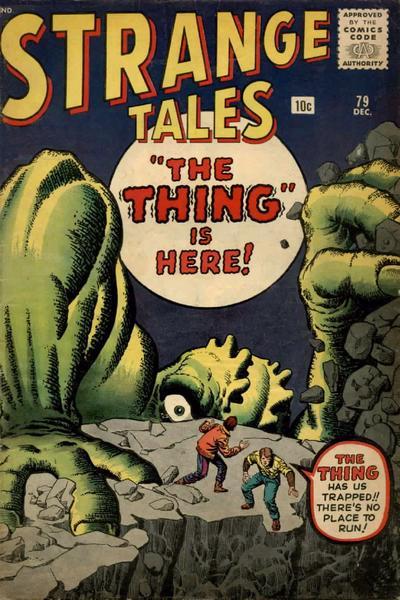 Cover for Strange Tales (Marvel, 1951 series) #79