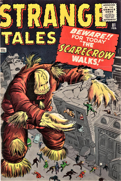 Cover for Strange Tales (Marvel, 1951 series) #81