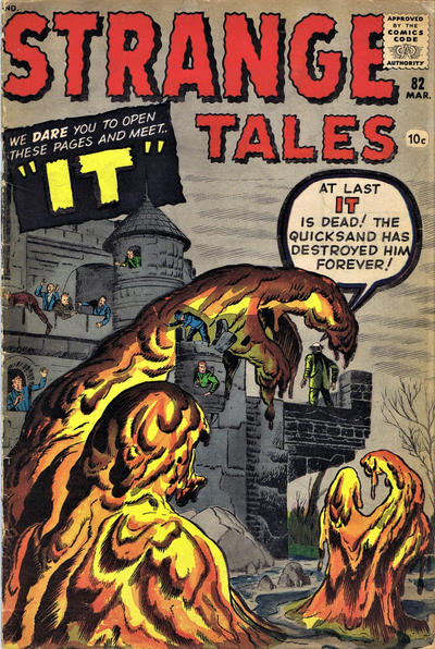 Cover for Strange Tales (Marvel, 1951 series) #82